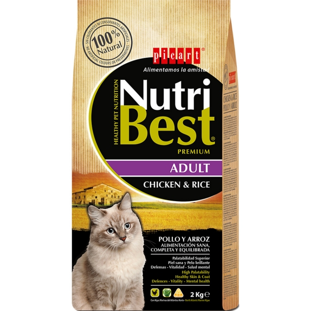 Picart Nutribest Cat Chicken&Rice