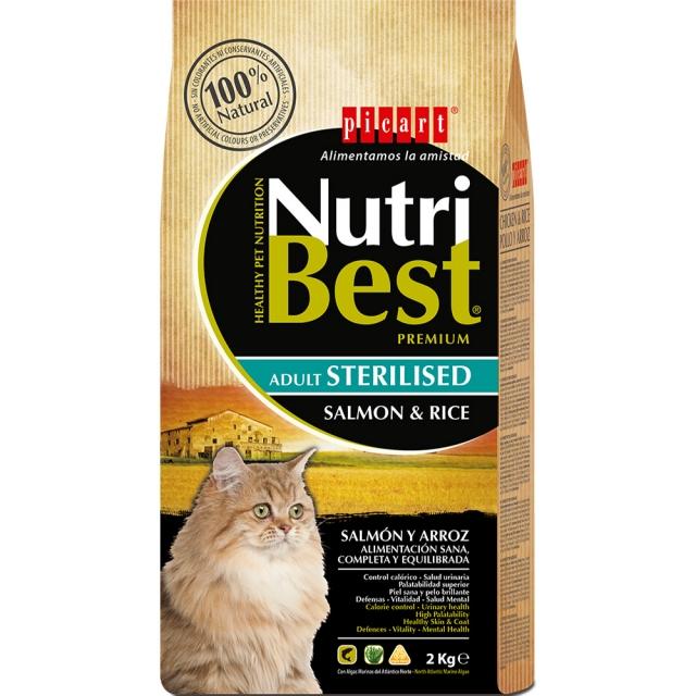 Nutribest Cat Sterilised 2kg