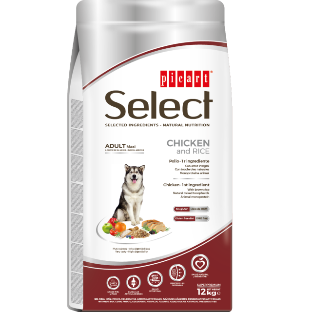 Picart Select Dog Large Breed 12kg