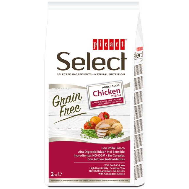 Picart Select Dog GF Adult Chicken