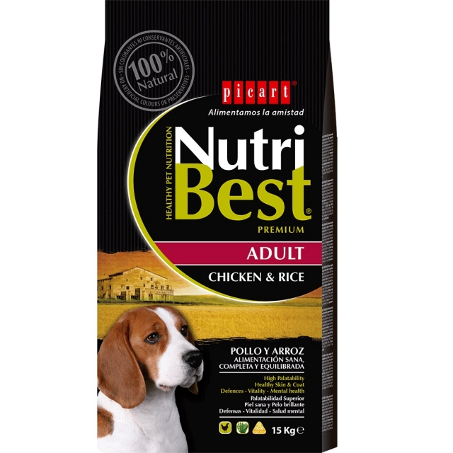 Picart Nutribest Dog Adult